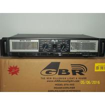 Potencia Bta 450 Gbr 650 W 8 Ohms Sonido Pro