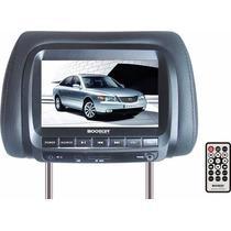 Monitor Lcd 7 Auto Apoyacabeza Dvd Booster Control Remoto