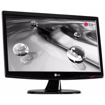 Monitor Lcd Led Lg 20 Pulgadas Widescreen Como Nuevo!!