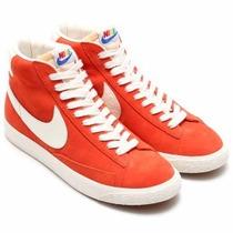 Botitas Nike Blazer Mid Prm Vntg Qs Moda Retro Floreadas