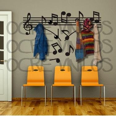 Vinilos percheros y repisas decorativos con perchas - Percheros pared decorativos ...