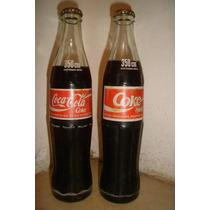 Botella Antigua Coca Cola Llena Dec.