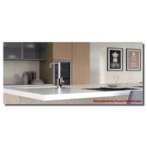 Ceramico Rectificado Brillante 31x58 Carrara / Beige 1°cal