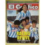 Racing Boca Campeon El Grafico 3851 De 1993