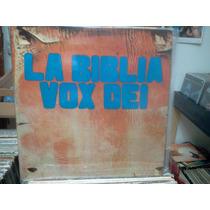Vox Dei*la Biblia*original Doble Lp Argentina*lacapsula