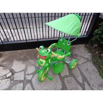 Un Triciclo Muy Lindo Del Sapo Pepe Justo Para El