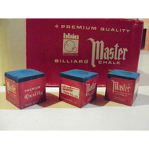 Tizas De Pool Importadas Made In U.s.a.: Master Premium!