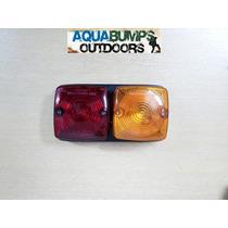 Faro Trasero Doble Bicolor - Precio Por Unidad - Aquabumps