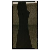 Pantalon Ayres Negro Con Hilos Plateados Talle: Xs