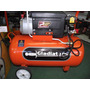 Compresor Gladiator 50lts 2hp/1450w C/manometros Floresta
