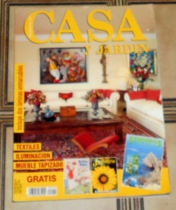 M181 revista espa ola casa y jard n iluminacion textiles for Casa y jardin revista