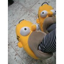 Pantuflas Los Simpsons Originales Homero P Todas Las Edades
