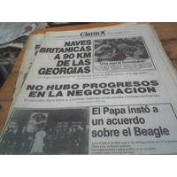 Diario Clarin 24 Abril 1982 Malvinas Naves Britanicas