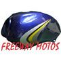Tanque Nafta Yamaha Ybr 125 Azul Con Calco Freeway Motos