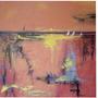 Cuadro Abstracto 80 X 80 Acrilico Pintado A Mano.