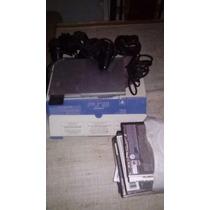 Playstation 2 +20 Juegos +2jostick Y Memoria