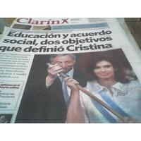 Diario Clarin 11 Diciembre 2007 Kirchner La Presidenta