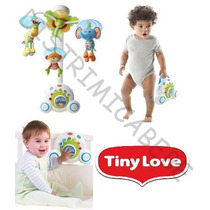 Movil Musical Cunero Tiny Love Soothe´n Groove Luz 3 En 1