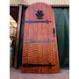 Puerta Antigua Cedro. Medieval. Atelier Carpinteria