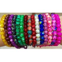 Perlas De Vidrio Tornasoladas X500 Unidades