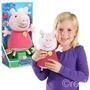 Peluche Peppa Pig Risas Y Cosquillas - Jugueteria Aplausos