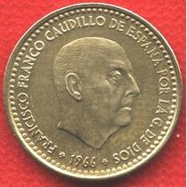 Moneda España 1 Peseta 1969 - Franco Caudillo - Ls738