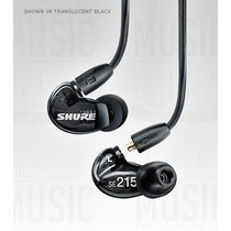 Shure Se215-k Auricular Intraural Profesional 22hz A 17,5khz