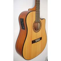 Guitarra Electro Acustica Ecualizador De 4bandas+vol Luthier