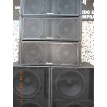Line Array Curvo&eighteensound 212 / Componentes Italianos