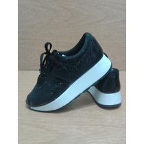 Zapatillas Dama Tipo Sneakers Con Plataforma