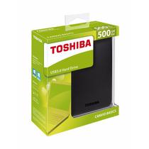 Disco Rigido Externo Toshiba 500gb Usb 3.0 Hd