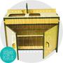 Muebles Barbie Fibrofacil Juego Cocina Completa C1 P/ Pintar