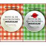 Combo Libros - Manuales De Gastronomía Molecular