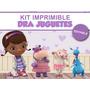 Promo 2 Kits Imprimibles Editables Doctora Juguetes, Candy