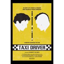 Carteles Antiguos Poster Gruesa 60x40cm Taxi Driver Fi-060