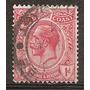 Gold Coast Costa De Oro 1v.. Antiguo Año 1913 Usado