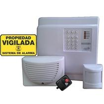 Alarma Inalambrica Domiciliaria Gsm Sms Celular Llamador
