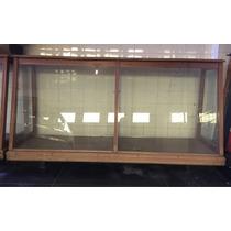Mostrador Exhibidor De Panadería Con Estantes. Usado