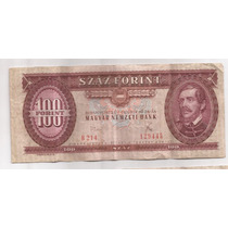 Hungria Billete De 100 Forint Año 1975 Pick 171 E !