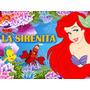 Kit Imprimible Candy Bar La Sirenita Princesa Ariel Y Mas