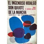 El Ingenioso Hidalgo Don Quijote De La Mancha. Kapelusz 1969