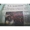 Diario La Nacion 25 Octubre 1999 Gano De La Rua De Primera