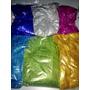 Gibre Para Artesanias Colores + Brillantes 4 Bolsa X 50grs