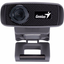 Webcam Camara Web Genius Facecam 1000x Hd 720p C/ Micrófono