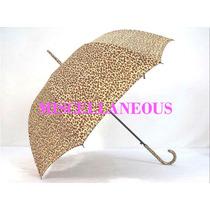 Paraguas Largo De Señora Impresion Animal Print