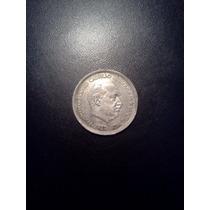 Moneda De 50 Pesetas F.franco España 1957 * 60