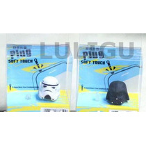 Star Wars Tapon Anti Polvo Celular Darth Vader Dust Plug