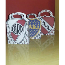 Bolsitas Para Golosinas Personalizadas Escudo Futbol