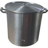 Olla Aluminio Gastronomica N 50 Cerveza Tapa 100lt Reforzada