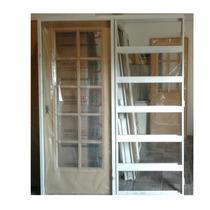 Puerta Corrediza Para Durlock Vidrio Repartido Zona Sur